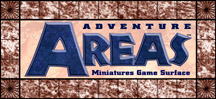 Logo: Adventure Areas Miniatures Game Surface